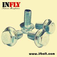 Hex Flange Bolt DIN6921 www.ifbolt.com-Infly Fasteners