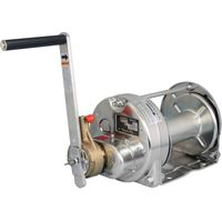 Stainless Steel Ratchet Hand Winches (Electropolishing): Model ERSB-10-SI (1,000kgf)