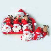 Christmas Decorations –Santan Sowman, and Reindeer Hanging thumbnail image