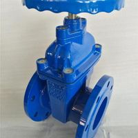 BS standard iron gate valve price,rubber seal NRS