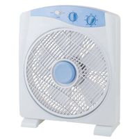 Electric 12 inch Plastic Timer Square BOX Fan