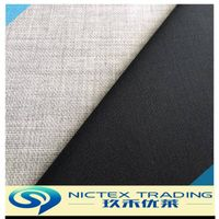 blended polyester wool lycra fabric for suiting and dress