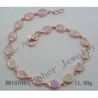 Topher Jewelry silver 925-opal bracelet