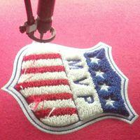 CNL005 chenille patch banner, chenille banner badge, chenille emblems, chenille letters thumbnail image