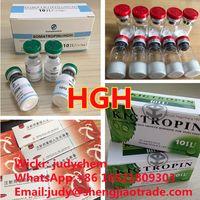 Wholesale high purity HGH raw powder Human Growth Hormone powder in stock Wickr:judychem