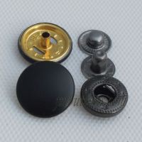 Wholesale Copper antique buttons metal snap button for coat from factory