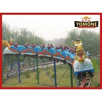 CE certification china factory manufacturer amusement park rides roller coaster outdoor equipment fo