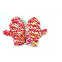 cute knitted winter warm cotton gloves