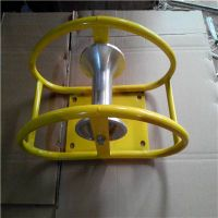 Steel cable guide roller