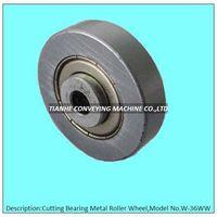 cutting metal skate wheel, cutting metal roller wheel, cutting metal track wheel thumbnail image
