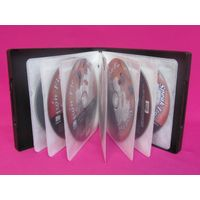 multi CD case with CD sleeves