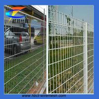 Hot dip galvanized triangular bending fence garden fence