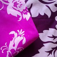 2014 new design 100% woven printing polyester fabric for bedline