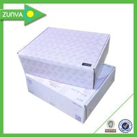 Offset printing custom paper shoe box