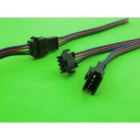 JST 4Pin SM connector 4Way Multipole Connector cable plug With wire ternimal male and female set