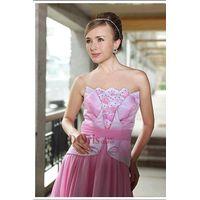 2014 elegant bridesmaid dress hot pink formal dress 30287 thumbnail image