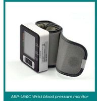 Upper arm automatic blood pressure monitor