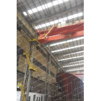 Shipbuilding double girder overhead bridge crane