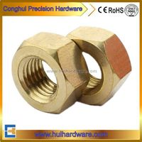 Brass Hex Head Nut