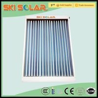 2015 factory wholesale high heat rate U pipe parabolic trough solar collectors , SKI-CU, ISO&CE