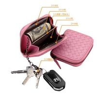 Fashion Leather Coin Purse, Key Holder and Credit Card Wallet