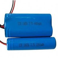2014 High Quality, 18650, 3.7V, 2200mAh, Rechargeable Li-ion Battery, Pack in Stock