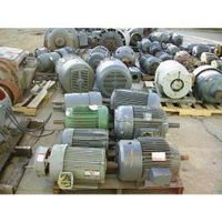 USED Electric Motors,Power cables,valves,curcits breakers etc thumbnail image