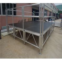 Aluminum stage for events concert thumbnail image