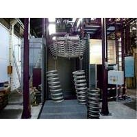 Dingtai  hanger type spring shot blasting machine