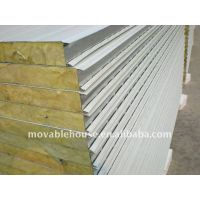 Rock Wool Sandwich Wall Panel for Prefab House thumbnail image