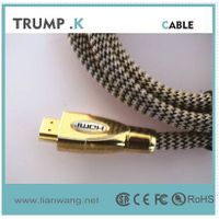 High speed 24k gold plated HDMI Cable with Ethernet, Ver.1.4