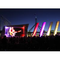Kingview Indoor Outdoor HD Rental Event Stage Curved LED Displays Screens Cabinets P3.91/4.81
