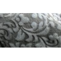 100%microfibre polyester coral fleece 3D carving printed with jacquard for blanket thumbnail image