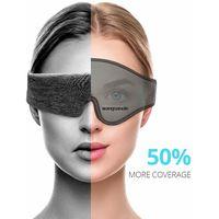 Private label Sleeping Eye Mask Travel Soft Sleep Eyemask Block Out Light thumbnail image