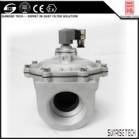 SUNRISE TMF series valve straight through pulse jet diaphragm valve thumbnail image