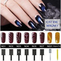 ICEMA UV Polish Gel Nail Manicure UV Nail Polish Sequins Gel Nail Soak Off Gel Polish Cat Eye Magnet
