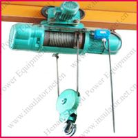 Wire rope electric hoist for crane thumbnail image