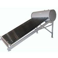 Solar water heater nonpressure system