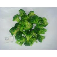 Frozen IQF organic broccoli