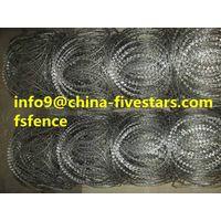razor barbed wire made in china  razor wire thumbnail image
