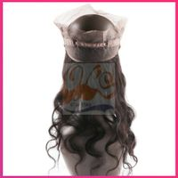 """New GrantSea Full Lace Celebrity Hairstyle 10""""-22"""" curly Gold color Human Hair Wigs Human Hair Wig F"""