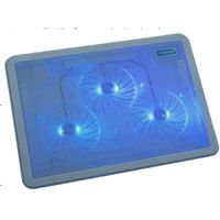 three 10cm LED fans laptop cooling pad thumbnail image