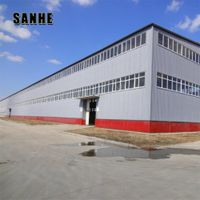 Custom Design Steel Structure Building for warehouse and workshop