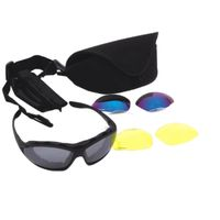 new fashion sports sunglasses with polarized PC frame