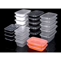 Disposable takeaway food container injection mold thin wall transparent lunch box injection mold foo