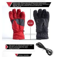 Infrared electric heating gloves