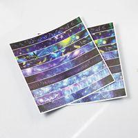 Custom printed washi paper sheet