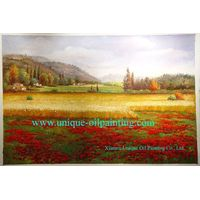 oil painting, scenery oil painting, 100% handmade oil painting thumbnail image