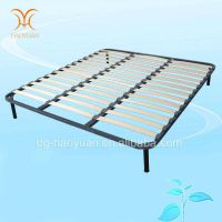 Haoyuan Furniture Wooden and Metal Bed Frame