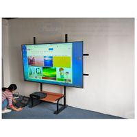 100 inch PET Crystal black diamond ust alr screen 4k high definition fixed frame projection screen